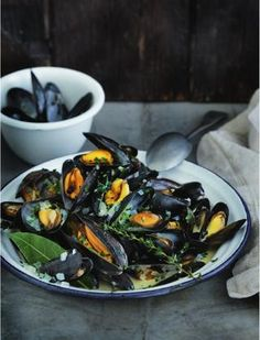Moules marinière - French cooking from Raymond Blanc
