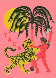 Alan Berry Rhys on Behance Retro Kunst, Graffiti, Montezuma, Grafik Design, Illustrations Posters, Design Illustrations, Art Inspo, Giclee Print, Linocut Prints
