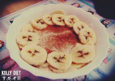 #kolly , #healthy #morning #breakfast #banana #oat #protein