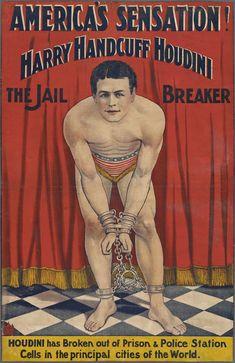 Harry Handcuff Houdini: the jail breaker