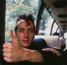 Joe Strummer (John Graham Mellor) (August 21, 1952 - December 24, 2002) British singer, guitarist and composer, o.a. known from the bands The Pogues and The Clash.