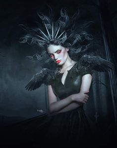 Dark Beauty, Halloween Face Makeup, Goth, Joker, Fictional Characters, Style, Gothic, Swag, Goth Subculture