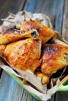 Crispy Buttery Buffalo Baked Chicken Recipe