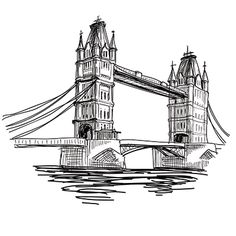 Your Summer Vacation is London - What's Your European Summer Vacation? Art Sketches, Art Drawings, London Drawing, Architecture Concept Drawings, Landscape Drawings, Urban Sketching, Pen Art, Monuments, Cool Art