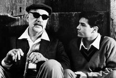 Philippe Noiret and Marco Leonardi as Alfredo and Salvatore in Cinema Paradiso. New Cinema, Cinema Film, Series Movies, Film Movie, Tv Series, Charlie Haden, Giuseppe Tornatore, Non Plus Ultra, Drama