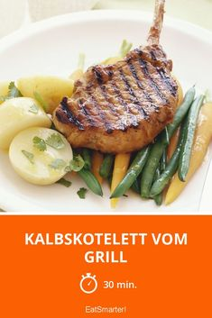 Kalbskotelett vom Grill - smarter - Zeit: 30 Min. | eatsmarter.de