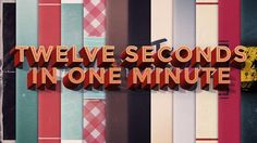 "The main idea for each animation was to create one-second animations and to prove that one second is enough to tell a story, present a character or create a tragedy with a help of text, illustrations, motion and sound. One second is much more than you'd thought.   This animation is a collection of smaller animations which was sandwiched between a title card and end slate.  I was inspired by Animade's ""Full Secs"" project."