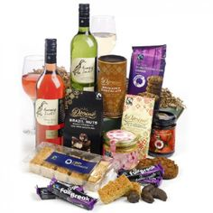Farmers Wine and Chocolate basket to Ireland
