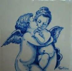 Azulejos com anjos - Pesquisar