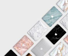 UNIQFIND Marble MacBook Skins For Protection - Design Milk