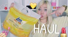 dm HAUL + riesige VERLOSUNG ♥ BibisBeautyPalace