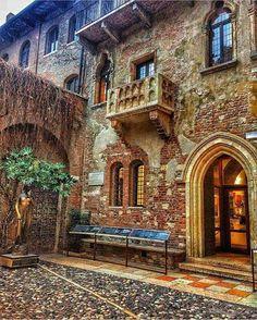 Casa di Giulietta. Verona. Italy