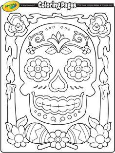 Dia de los Muertos on crayola.com