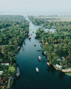 Back waters, #Kerala Beautiful Places To Travel, Beautiful Sites, Kerala India, South India, Kerala Backwaters, Arabian Sea, Exotic Beaches, Paradise On Earth, Hill Station
