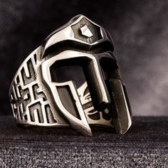 Few desires, few laws. - Lycurgus, spartan lawgiver-philosopher.  (his answer to either a corinthian or athenian lawgiver that visited sparta & asked why they had so few laws)  https://www.apaturia.com/products/turkish-mens-ring-spartan-helmet-925-sterling-silver-handmade-in-turkey #KandZ