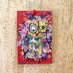 Merry Morepork/Owl Decoration Red (2) Nativity, Fun Facts, Gift Wrapping, Owl, Merry, Decoration, Christmas, Gifts, Design