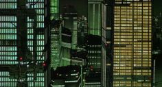 Post with 1177 views. Trippy Wallpaper, Anime Scenery Wallpaper, Neo Tokyo, Animation Cel, Cyberpunk City, Post Apocalypse, Animation Background, City Aesthetic, Electronic Art