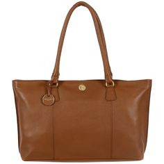 Made from finest natural leather, the 'Sherbourne' bag is coloured in a rich chestnut brown and fully lined. The zipped main compartment offers ample room for accessories, complete with a small zipped pocket opposite a phone slot. Finished with matching leather handles and a Pure Luxuries leather charm.