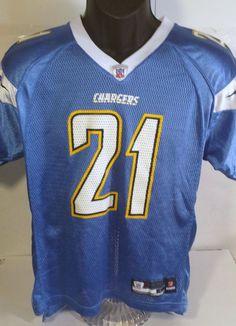 San Diego Chargers LaDainian Tomlinson Youth Size Large Reebok Football Jersey #Reebok #SanDiegoChargers