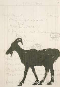 Joseph Beuys. drawing on paper