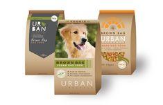 Brown Bag Dog Food Package Design by Hailey McKee, via Behance