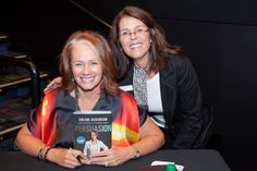 Met Arlene Dickenson, she is a lovely person. Thanks for signing my book Arlene.