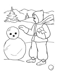 Winter Sports Coloring Page Fresh Bluebonkers Printable Winter Coloring Sheets Making A Snowman Coloring Pages, Coloring Pages Winter, Sports Coloring Pages, Free Coloring Pages, Coloring For Kids, Coloring Sheets, Coloring Books, Ski Drawing, Drawing For Kids