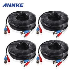 4PCS Lot 30M CCTV BNC Video Power Cable CCTV AHD //Price: $31.21 & FREE Shipping //     #hashtag1