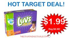 **NEW**  deal if you need some diapers! *CHEAP* Luvs Jumbo Pack Diaper Deal @ Target!  Click the link below to get all of the details ► http://www.thecouponingcouple.com/cheap-luvs-jumbo-pack-diaper-deal-target/ #Coupons #Couponing #CouponCommunity  Visit us at http://www.thecouponingcouple.com for more great posts!