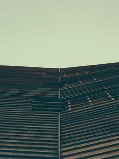 Wälderhaus by Lars Focke, via Behance