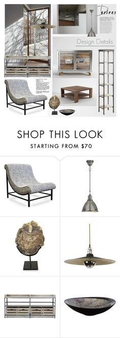 """""""Design Details"""" by snowbell ❤ liked on Polyvore featuring interior, interiors, interior design, home, home decor, interior decorating, Bela, CFC, Ralph Lauren Home and Noir"""