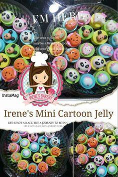 Mini Cartoon Agar Agar Jelly