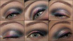 Makeup: Schwarz-Weiß mit Rainbow-Liner - Magimania - Beauty Blog http://www.magi-mania.de/amu-from-videho/
