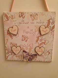 Together we are family We Are Family, How To Make