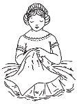 FREE Vintage Redwork Pattern, embroideress