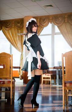 Misaki Ayuzawa (Kaichou wa Maid sama) cosplay by AnitramNoriko on DeviantArt