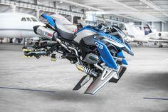 BMW's R1200GS 'hover' bike concept | Visordown