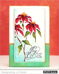 """Introducing Penny Black's newest Creative Dies and Stamps, """"Especially for You 2015"""""""