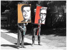 Plenaria Memoria Y Justicia: Fotos: Acción relámpago frente al nuevo escondite de Gavazzo