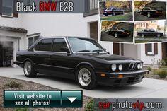 Black BMW E28