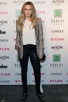 Ashley Tisdale Nylon Nights It Girl Issue Party October 13 2013