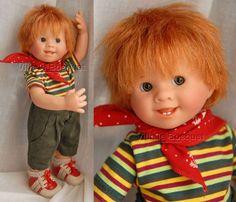 POUPEE ORIGINAL MÜLLER-WICHTEL JEREMY - poupée de collection de Rosemarie Müller