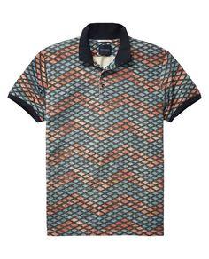 Printed Polo Shirt  - Scotch