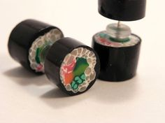 Fake Plugs- Sushi from Melissa Dawn Jewelry