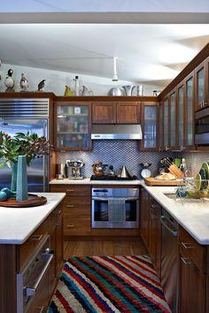 I love to make kitchen interesting and creative.