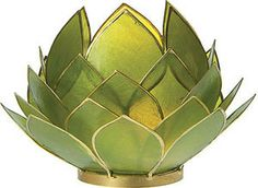 green colored things | ... green color. Used with votive candles or tealight candles)(above