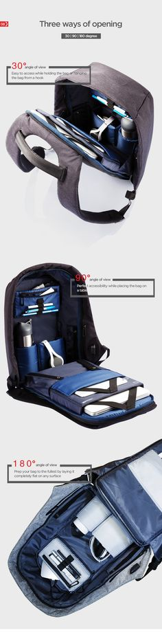 Every day 400.000 pick pocket incidents occur worldwide. Never worry about this happening to you with the Bobby Anti-Theft backpack!
