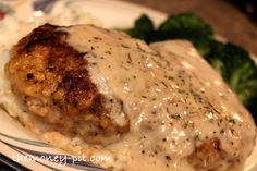 Southern Style Smothered Pork Chops (Baked) | The Kim Six Fix
