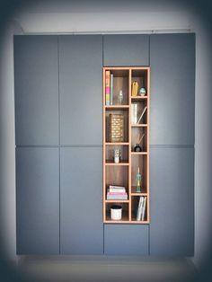 Best diy furniture ideas bookshelves Ideas - DIY Home Decor Wardrobe Design Bedroom, Wardrobe Storage, Wardrobe Closet, Closet Storage, Closet Shelves, Closet Clothing, Wardrobe Organisation, Clothing Racks, Modern Wardrobe