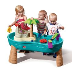 Parts for Splish Splash Seas Water Table by is the perfect water toy or your little pirate. View and shop this water table now. Best Water Table, Sand And Water Table, Sand Table, Step 2 Water Table, Outdoor Toys For Toddlers, Best Outdoor Toys, Outdoor Play, Peter Rabbit Party, Trampolines